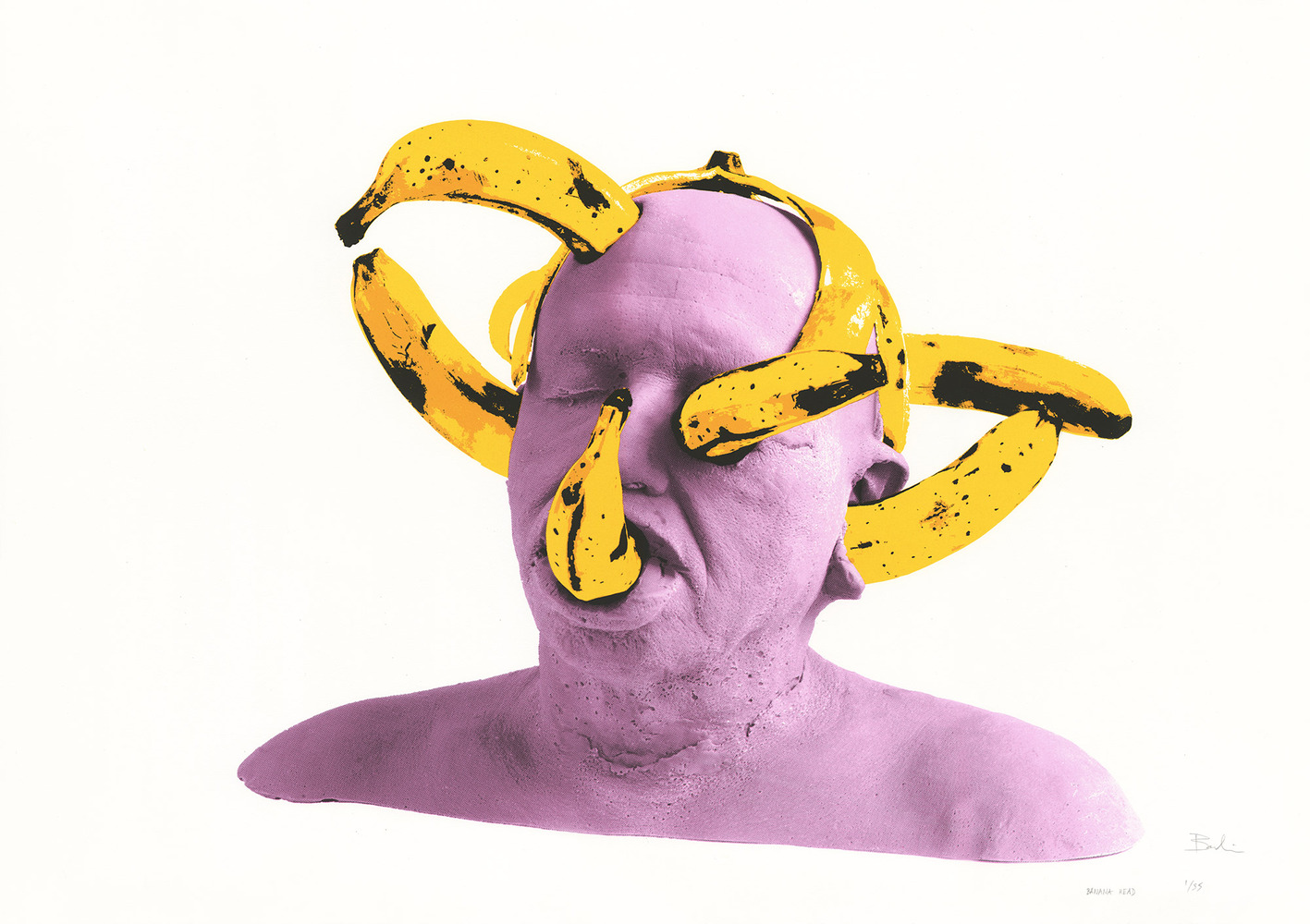 Gilles BARBIER - Banana Head, 2018
