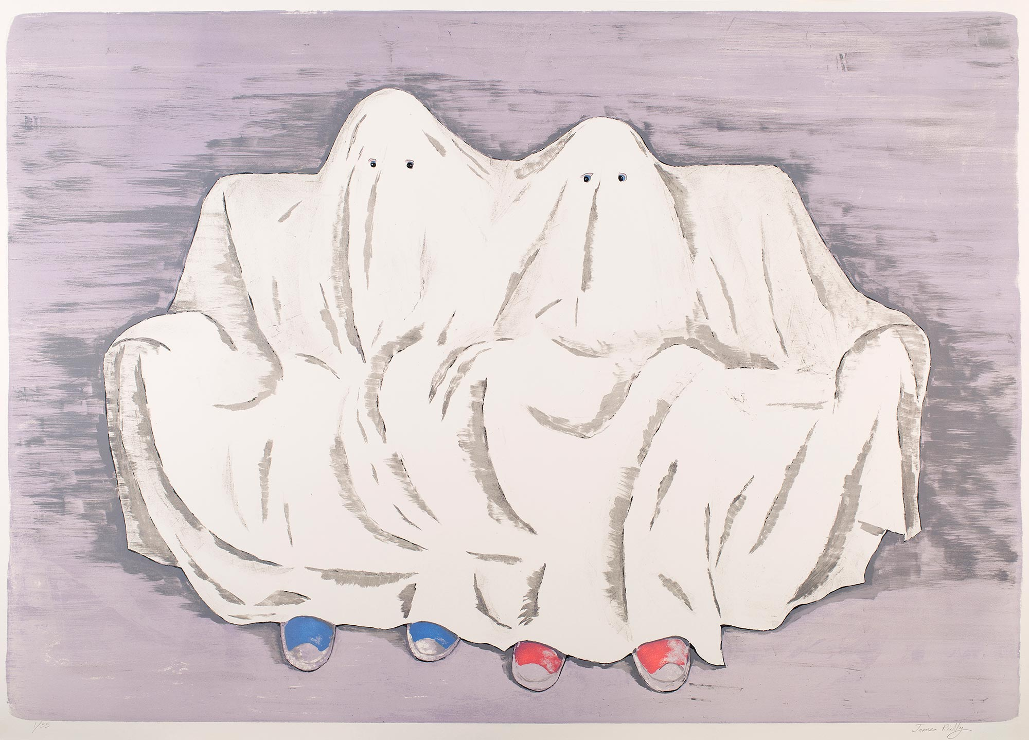 James RIELLY - French Ghosts, 2017
